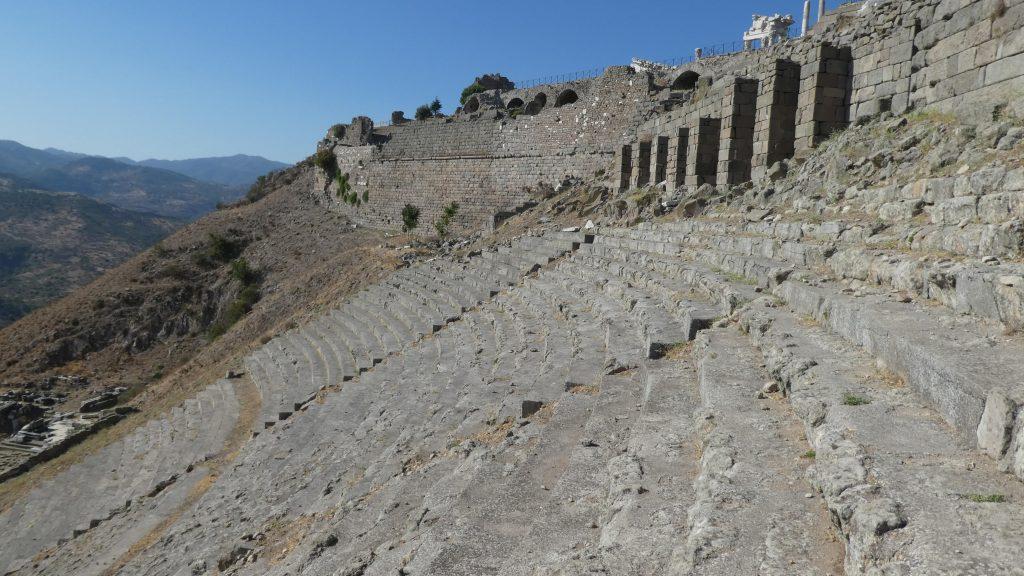 Pergamon Akropolis Studienreise Kleinasien Sth Basel