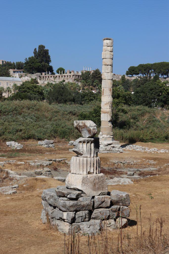 Platz Des Frueheren Artemis Tempels Studienreise Kleinasien