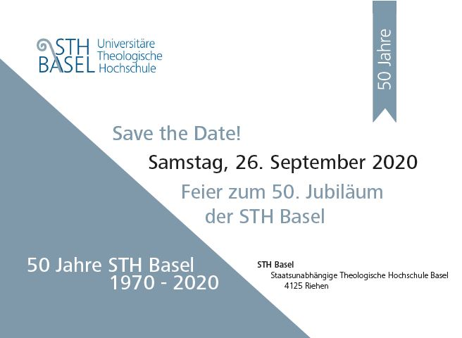 Save The Date Sth Basel Jubiläum