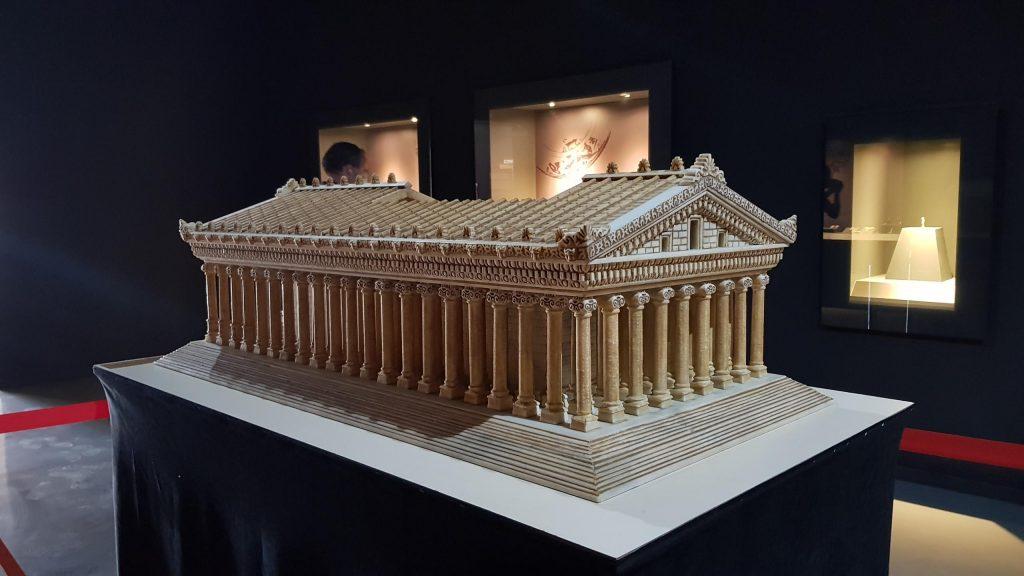 Ephesus Museum Modell Studienreise Kleinasien Sth Basel