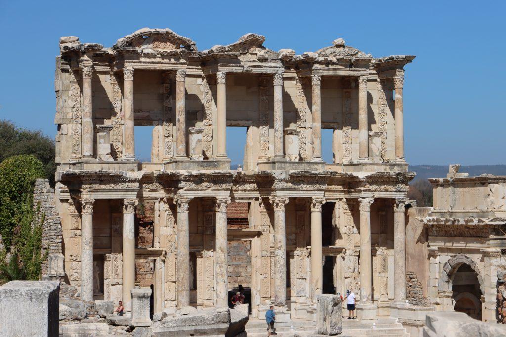 Ephesus Ruinen Studienreise Kleinasien Sth Basel