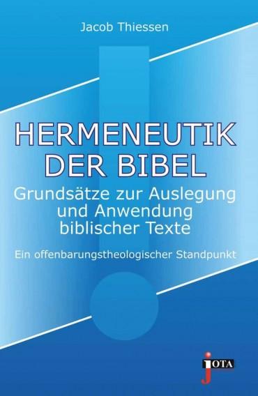 Hermeneutik Der Bibel Thiessen