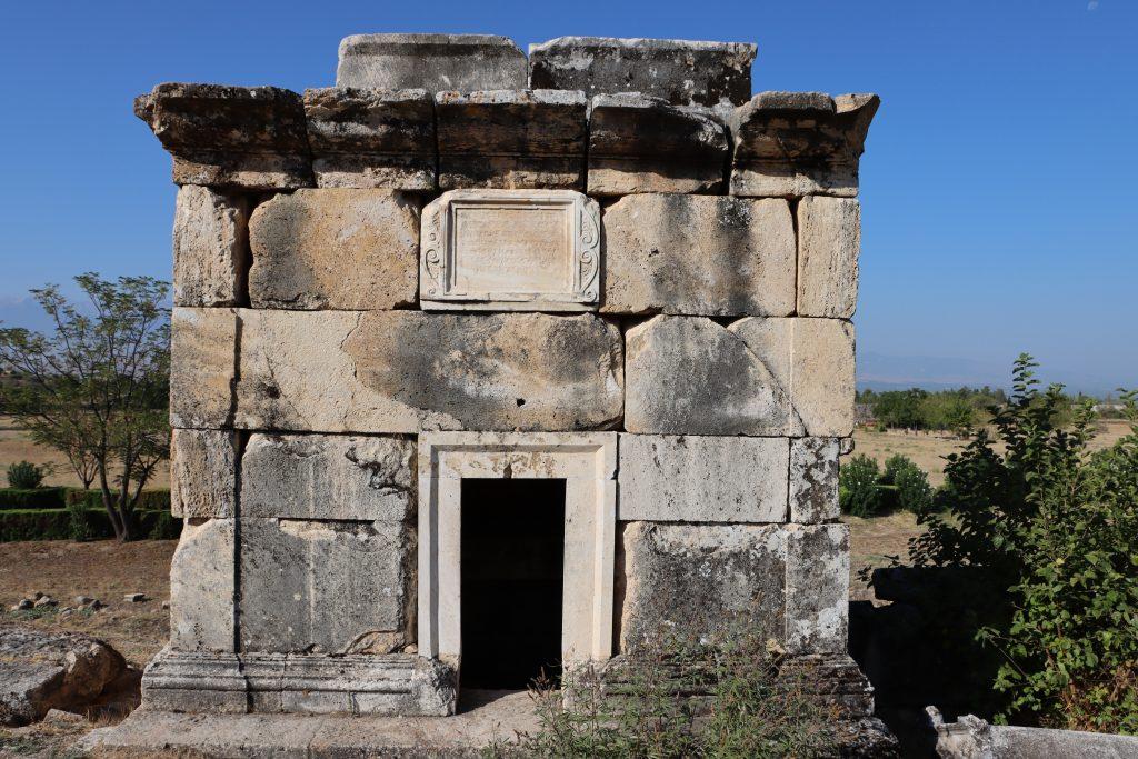 Hierapolis Studienreise Kleinasien Sth Basel 1