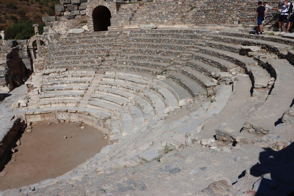 Historisches Ephesus Theater Studienreise Kleinasien Sth Basel