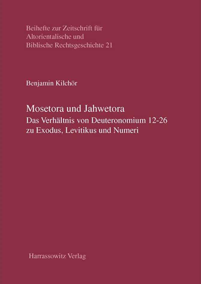 Mosetora Und Jahwetora Sth Basel