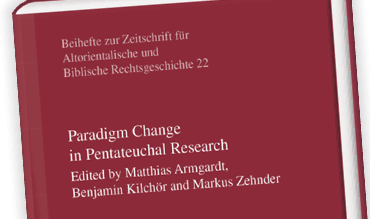 Paradigm Change In Pentateuchal Research Sth Basel Liste