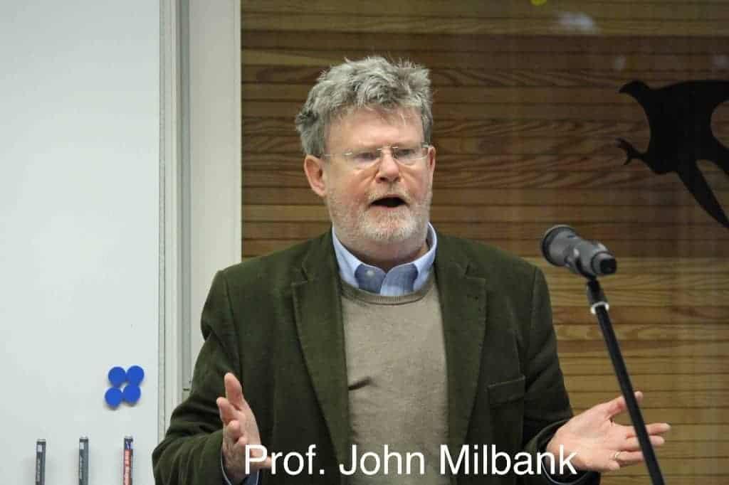 Radical Orthodoxy Tagung Prof John Milbank