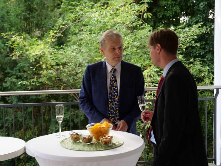 Sth Basel Alumni Jubilare Dinner 2017 Empfang 4