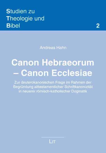 Sth Basel Canon Hebraeorum Canon Ecclesiae