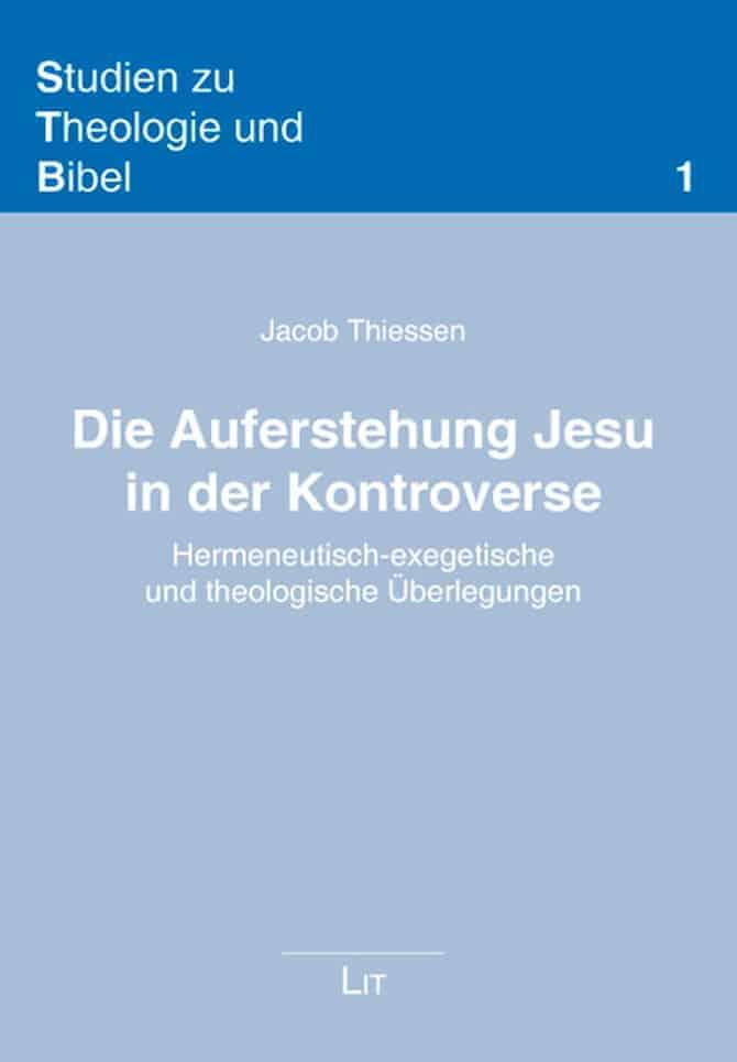 Sth Basel Die Auferstehung Jesu In Der Kontroverse