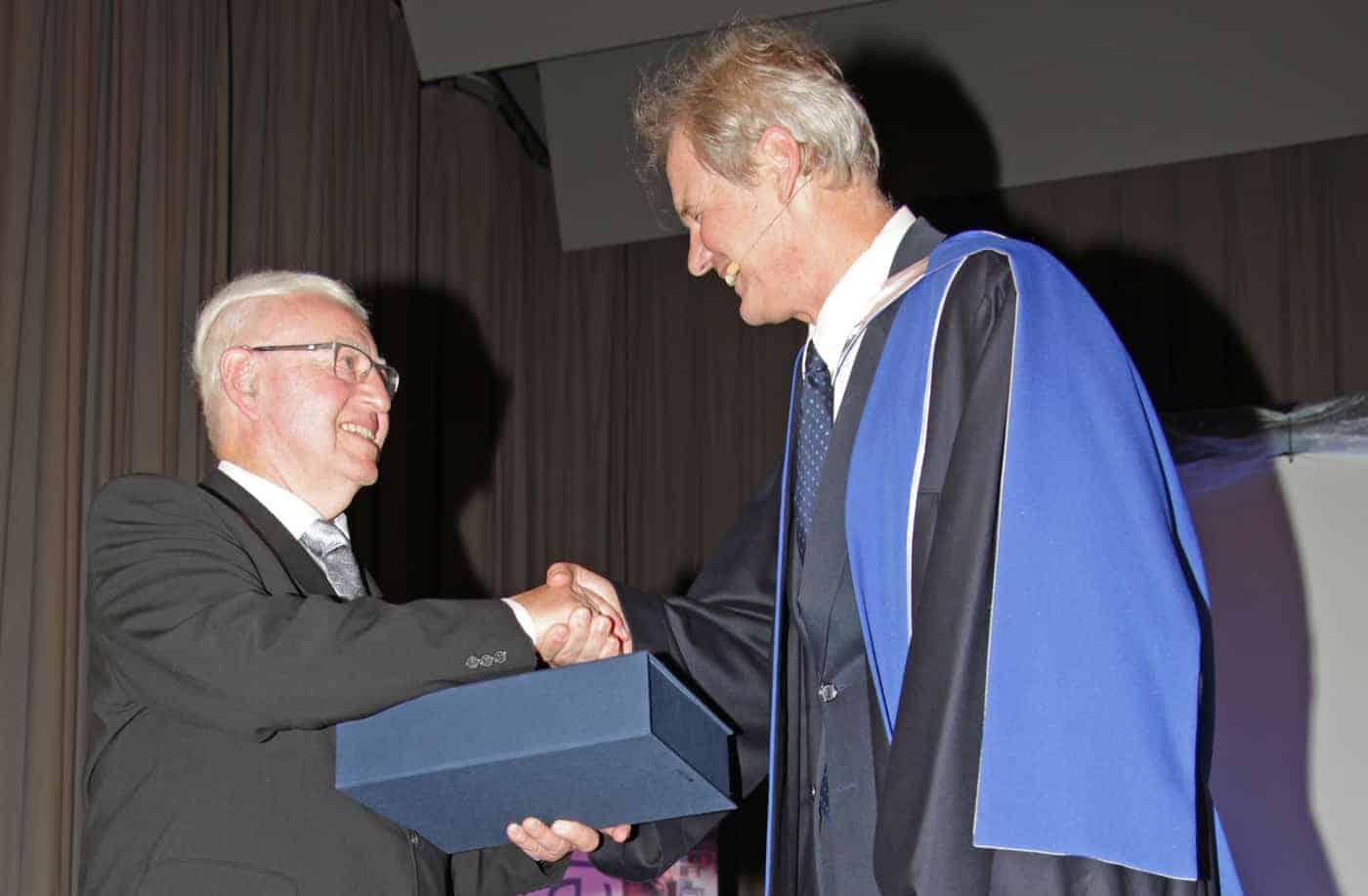 Sth Basel Ehrenpromotion Prof Gerhard Maier