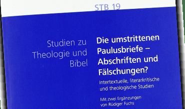 Sth Basel Thiessen Die Umstrittenen Paulusbriefe Abschriften Und Faelschungen Liste