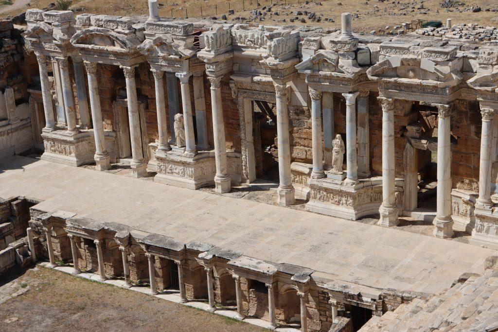 Studienreise Kleinasien Theater Hierapolis